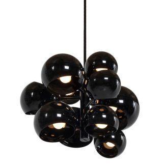 Lampa wisząca Astronomy  11 - czarna, 55cm