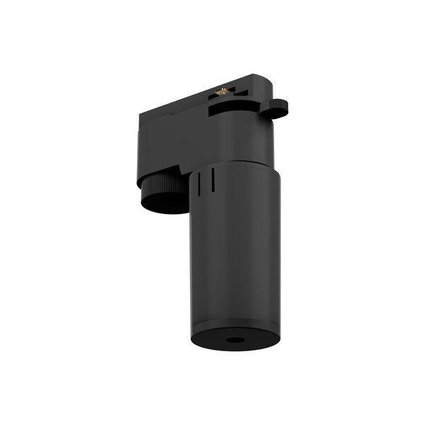 Czarny adapter do systemu szynowego Profile