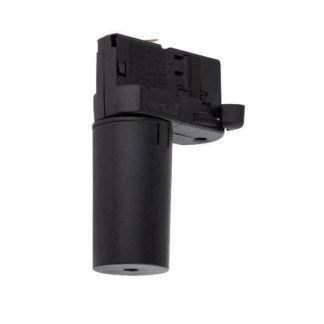 Czarny adapter do systemu szynowego CTLS