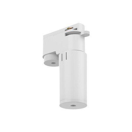 Biały adapter do systemu szynowego Profile
