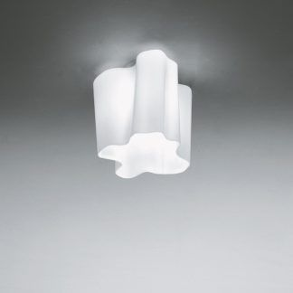 Efektowna lampa sufitowa Logico Signola Soffitto - szklany klosz