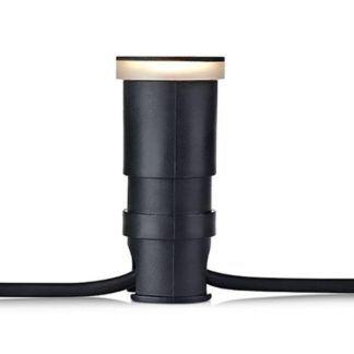 Oprawa wpuszczana Garden 24 - 4,5mm, czarna, IP44