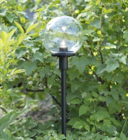 Słupek ogrodowy Garden 24 - szklana kula, IP44