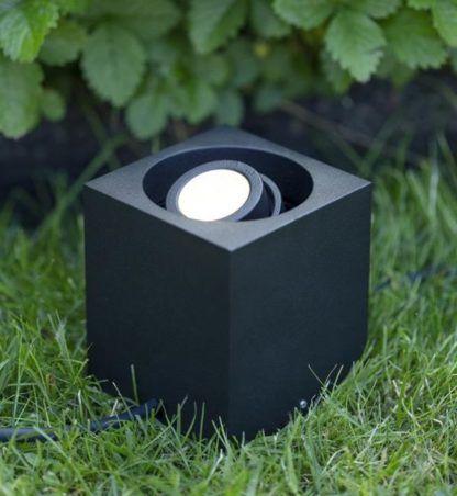Kwadratowy spot ogrodowy Garden 24 - LED, IP44