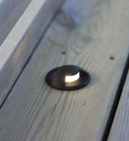Spot podłogowy Garden 24 - LED, czarny