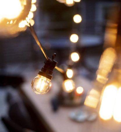 Girlanda ogrodowa Garden 24 - LED, IP44, małe żarówki