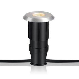 Srebrne oczko wpuszczane Garden 24 - 6W LED, IP44