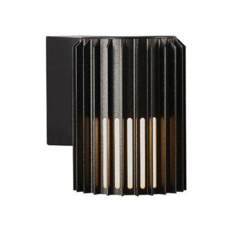 Czarny kinkiet zewnętrzny Matrix - Nordlux, IP54, E27