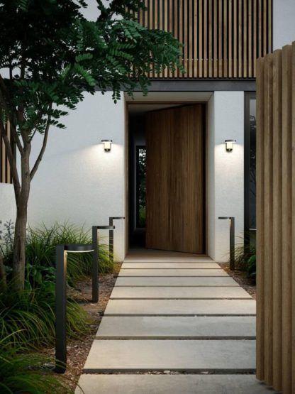 solarne kinkiety przed drzwi wejściowe