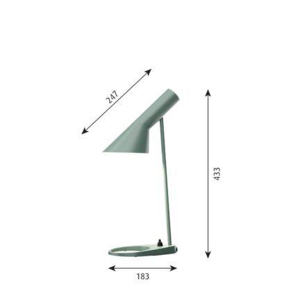 lampa biurkowa szałwia