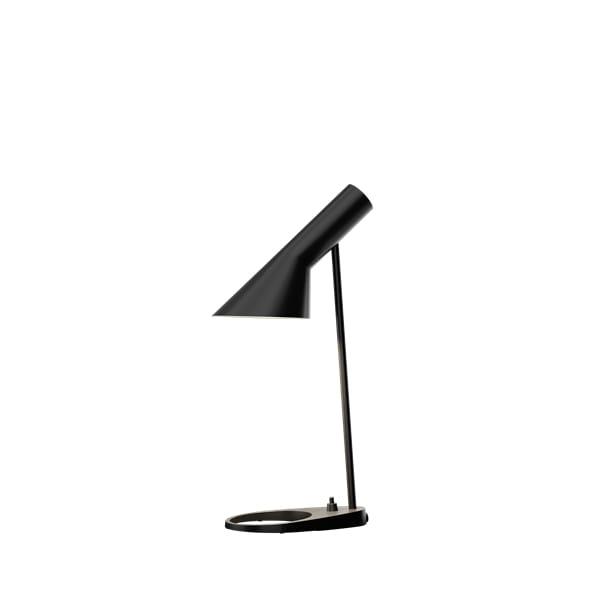 czarna lampa biurkowa nowoczesna