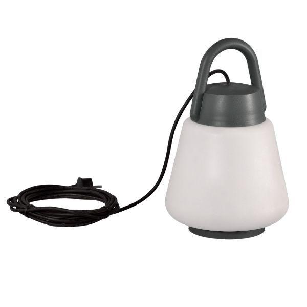 Lampa zewnętrzna Kinké - IP65, z wtyczką, do postawienia / do zawieszenia