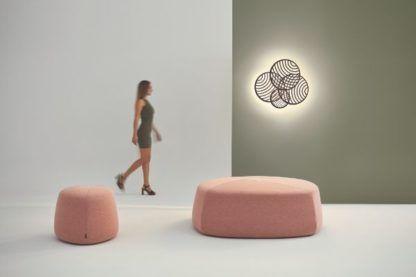nowoczesny kinkiet dekoracja salonu