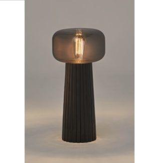Elegancka lampa stołowa Faro - ceramiczna podstawa