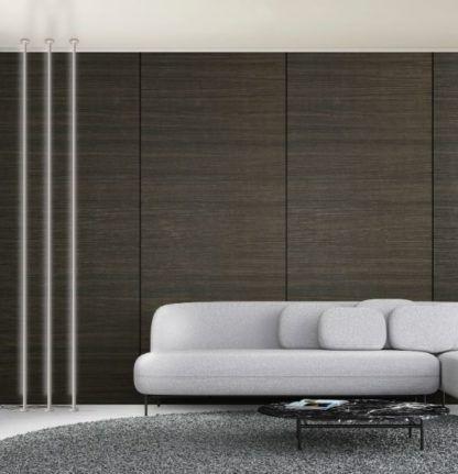 Lampa sufitowa Vertical L - biała, listwa LED sufit-podłoga