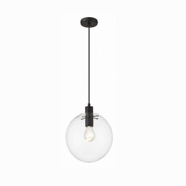 Lampa wisząca Puerto M - czarne elementy