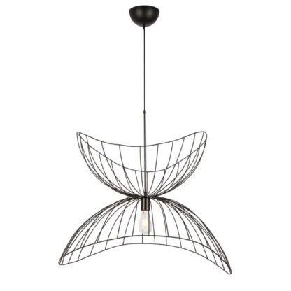 druciana elegancka lampa wisząca do jadalni