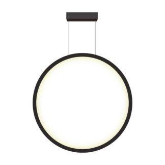 Duża lampa wisząca Mirror - 90cm, IP44, 3000K