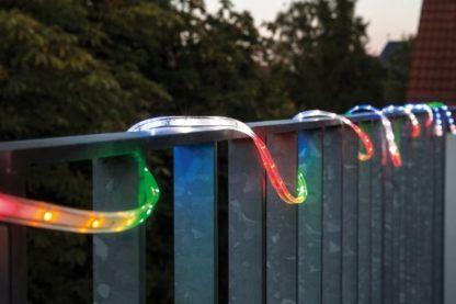 taśma led RGB na balkon