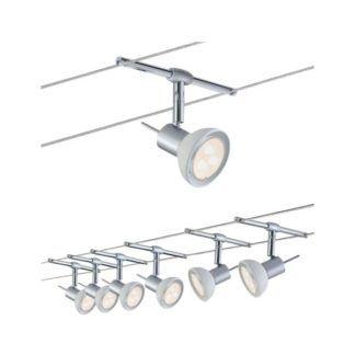 System linkowy Sheela - 6x 4W, regulowane klosze, chrom