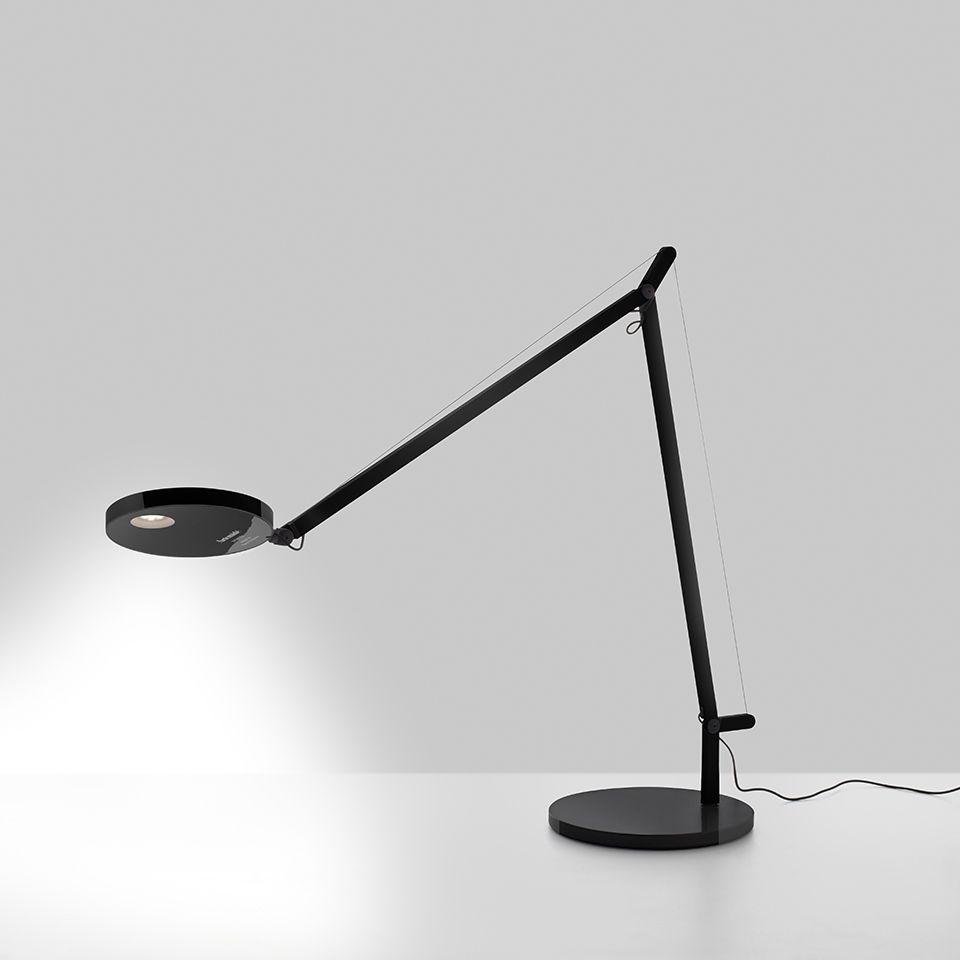 Regulowana lampa biurkowa Demetra Tavolo - czarna, LED