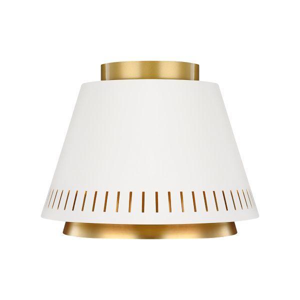 bialo-złoty kinkiet modern classic