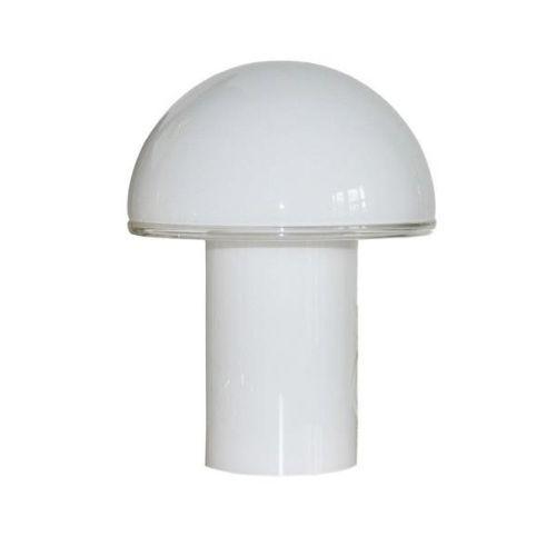 Szklana lampa stołowa Onfale Tavolo Medio - podwójny włącznik