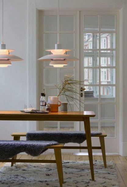 lampa wisząca nad stół fioletowe detale