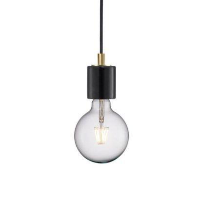 Lampa wisząca Siv - Nordlux - czarny marmur
