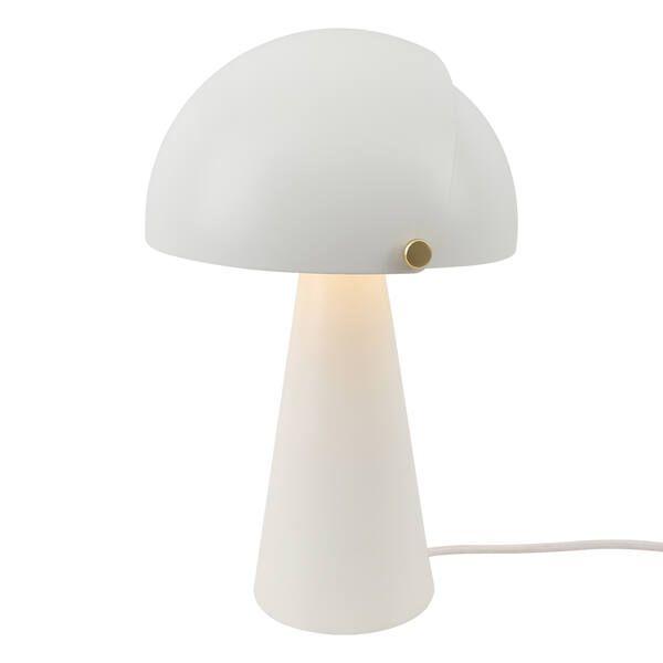 lampa stołowa z otwieranym kloszem