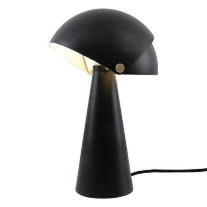 regulowana lampa stołowa grzybek