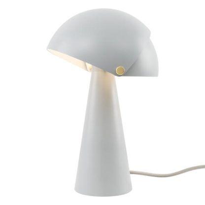 nowoczesna lampa stołowa regulowany klosz