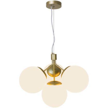 Elegancka lampa wisząc Ivona 4 - Nordlux, mleczne kule