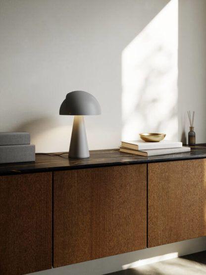 lampa stołowa z regulacją grzybek