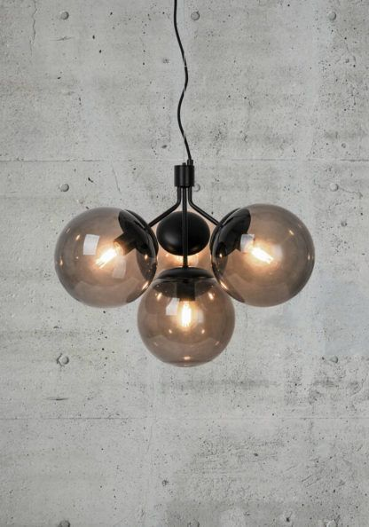 Lampa wisząca Ivona 4 - Nordlux, dymione klosze