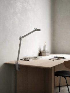 Lampa stołowa / kinkiet Nobu - DFTP, lampa do pracy, szara