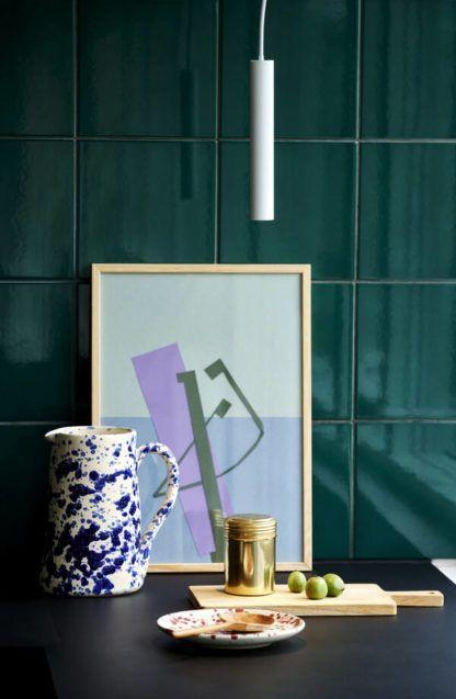 Biała lampa wisząca Omari - Nordlux, moodmaker