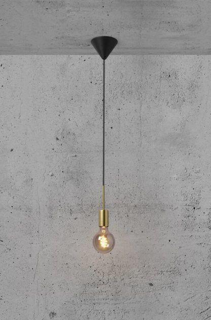 Lampa wisząca Paco - Nordlux, mosiądz