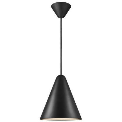 Lampa wisząca Nono 23,5 -DFTP, czarna, zamknięty klosz
