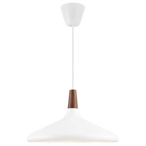 Duża lampa wisząca Nori 39 - DFTP, biały klosz