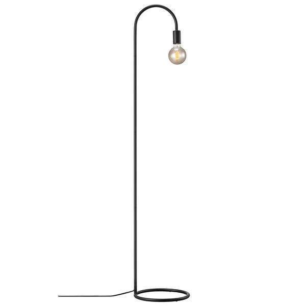 Industrialna lampa podłogowa Paco - Nordlux, czarna