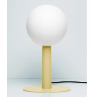 Lampa stołowa Matuba - żółta, żarówka 20cm