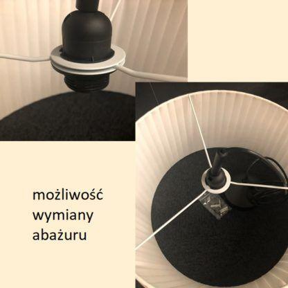 Elegancka lampa podłogowa Dicte - Nordlux, beżowy abażur