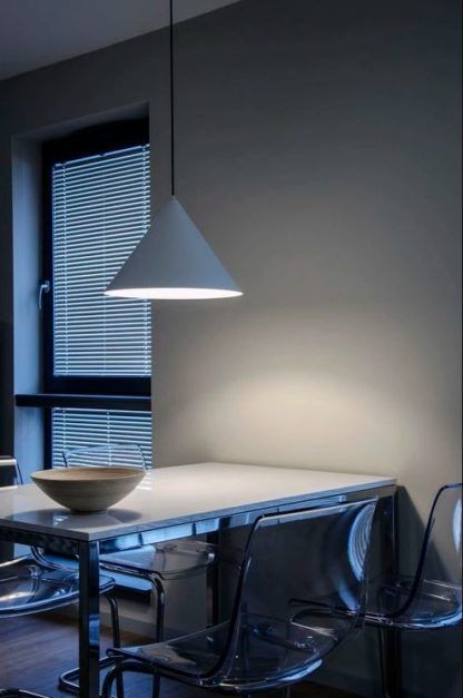 Lampa wisząca Konko Light - 30cm, niebieska