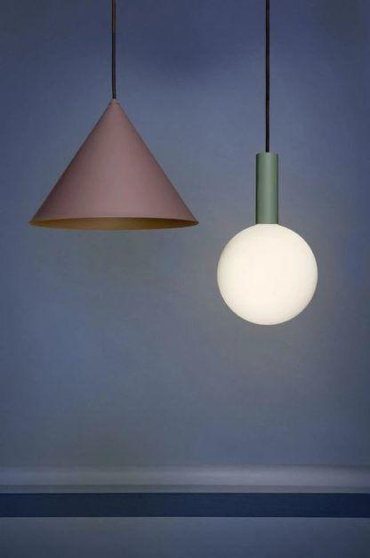 geometryczne lampy wiszące