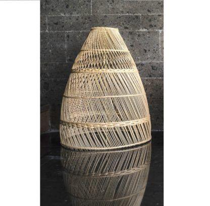 lampa wisząca design z bali
