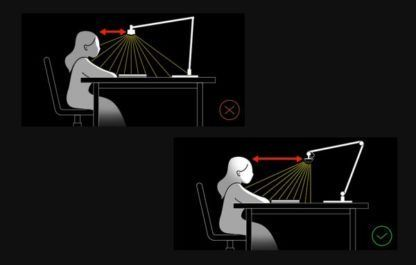 lampa biurkowa zdrowa dla wzroku
