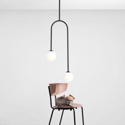 lampa wisząca czarny łuk