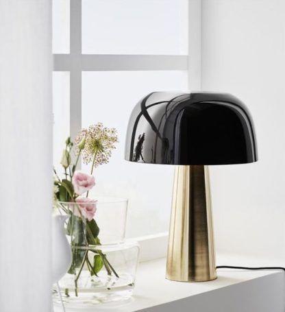nowoczesna lampa stołowa do salonu