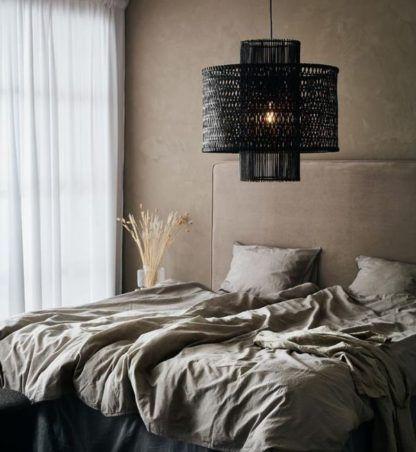 lampa wisząca boho do sypialni